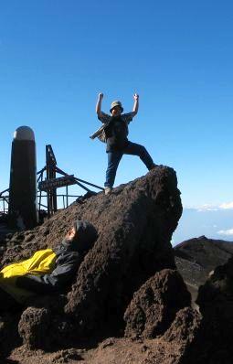 日本最高峰の地