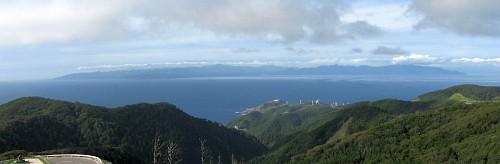 北海道が見える