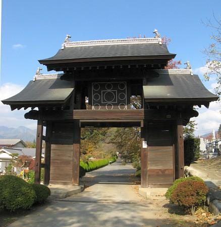 放光寺総門