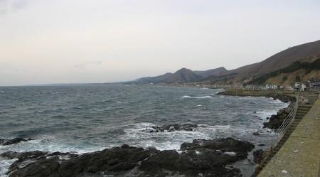 戸井町の海
