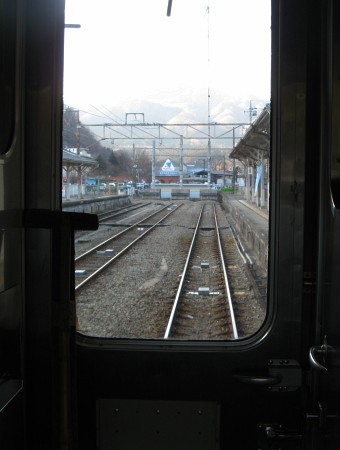 横川駅終端
