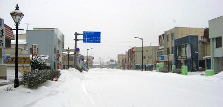 羽後本荘駅駅前