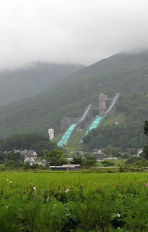 白馬スキージャンプ競技場