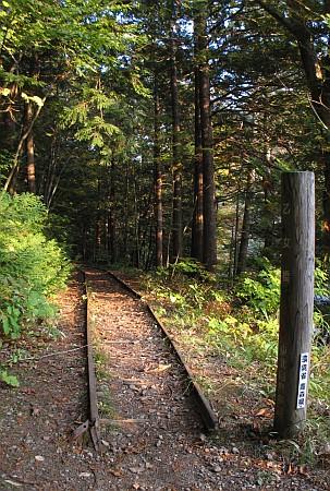 大畑森林鉄道跡
