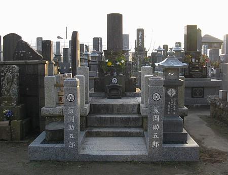 飯岡助五郎の墓