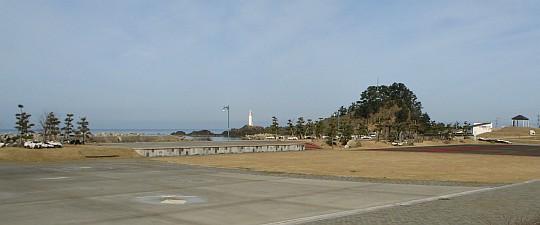 鼠ヶ関 弁天島