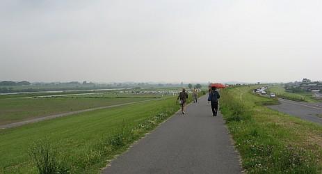利根川河川敷