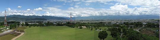 展望塔からの風景
