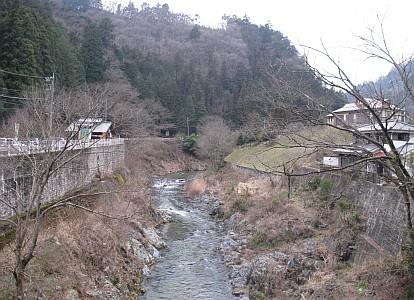 北秋川渓谷