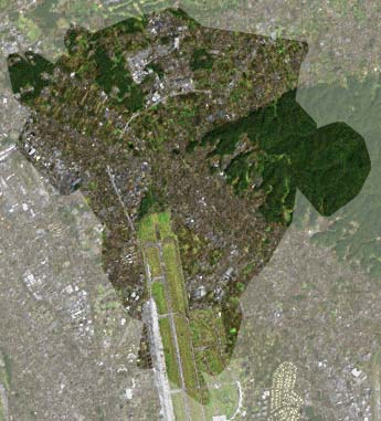 ランドサット衛星画像
