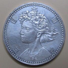 花博記念貨幣 表