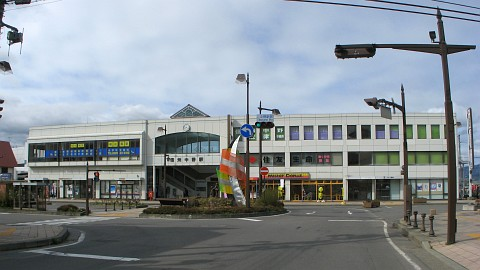 信州中野駅