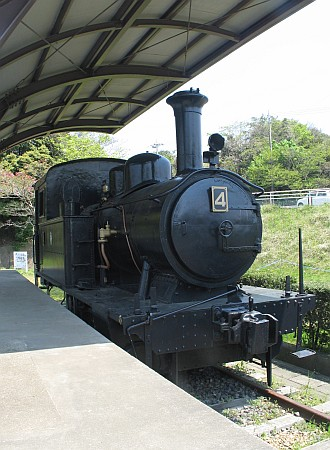 C形タンク機関車