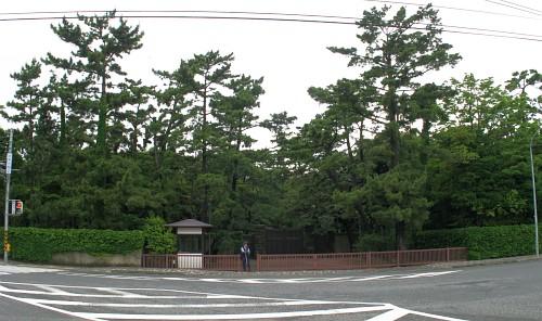 駅からマンホール » 葉山御用邸 ~ 神奈川県葉山町