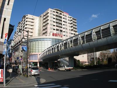 清瀬駅前の西友
