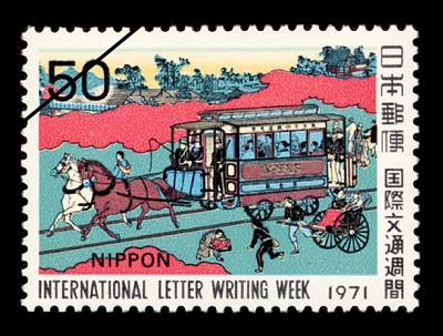 東京鉄道馬車図