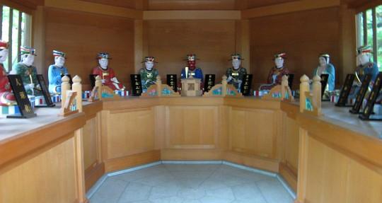 冥界に住む十人の王