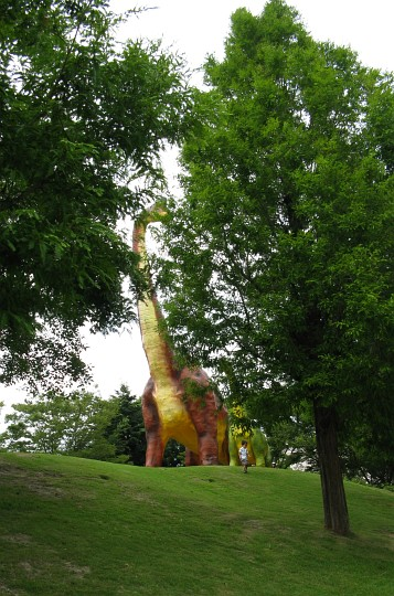 豊橋総合動植物公園:ブラキオサウルス