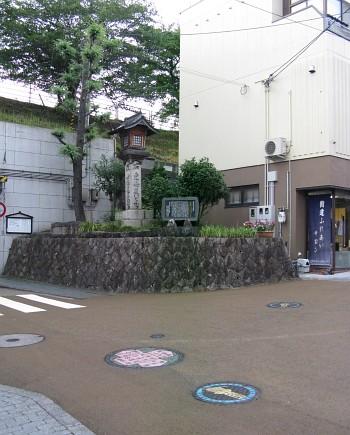 草津宿 東海道と中山道分岐点