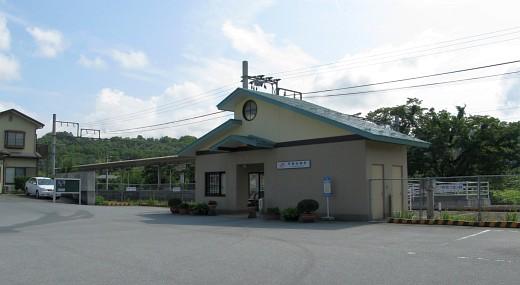 甲斐岩間駅