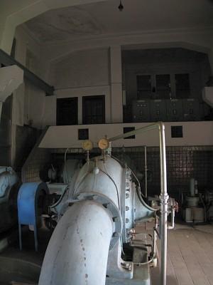 駒沢給水所 第1配水ポンプ所