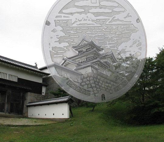 ぐりぐり写真:小峰城三重櫓