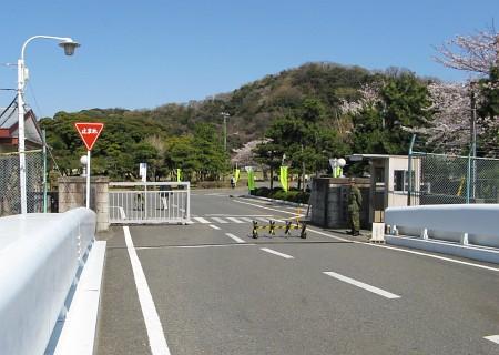 陸上自衛隊久里浜駐屯地入口