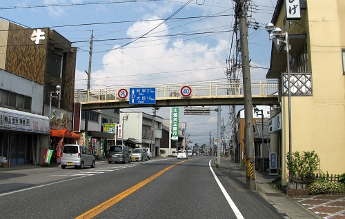 関が原歩道橋