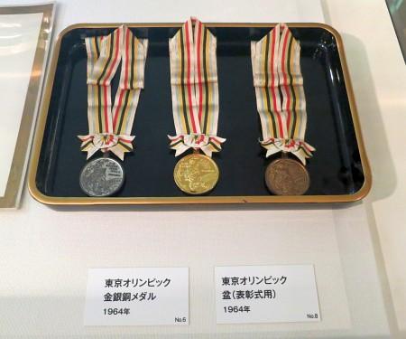 東京オリンピック金銀銅メダル