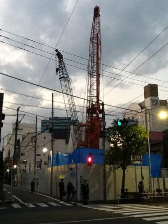 解体された上野下アパートメント