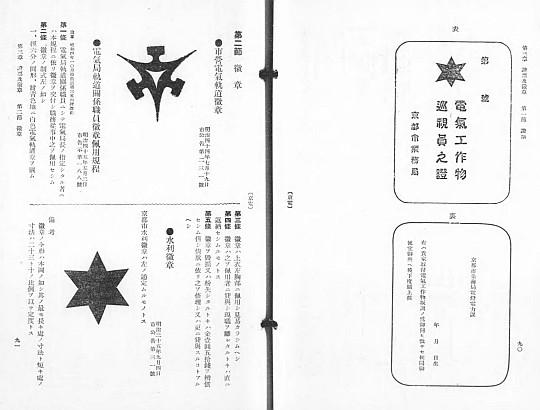 京都市電氣局例規